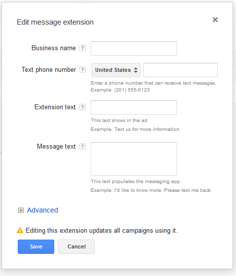 AdWords_Message_Extension_Form